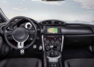 Фотография передных сидений автомобиля Toyota GT 86