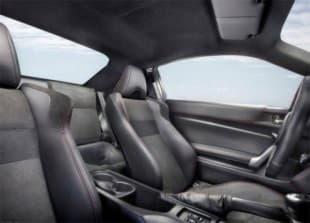 Фотография задных сидений автомобиля Toyota GT 86