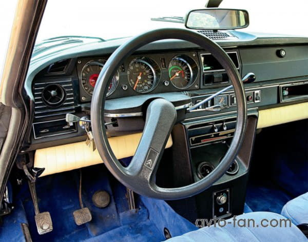 Необычное рулевое колесо Сitroen DS