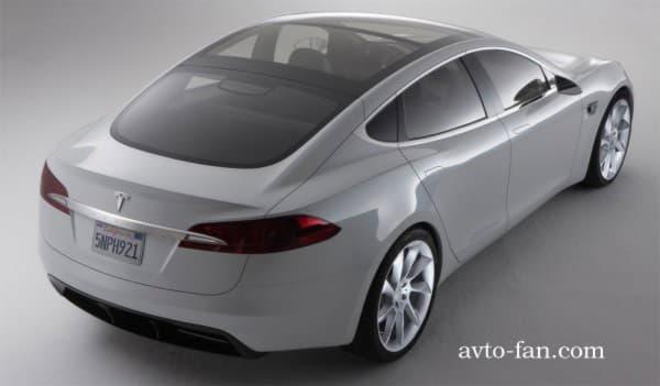 Понорамный люк на крыше Tesla Model S