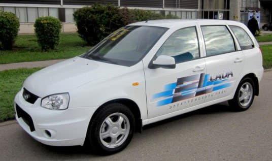 Российский электромобиль Эл Лада