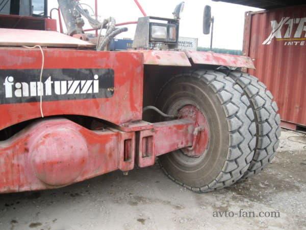Ведущие колеса погрузчика Fantuzzi