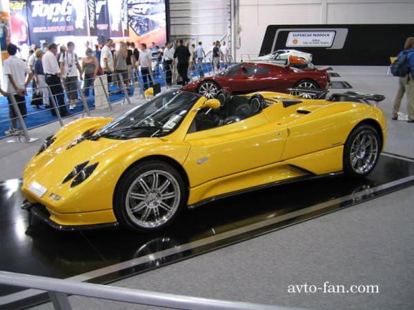 Модель Pagani Zonda Roadster
