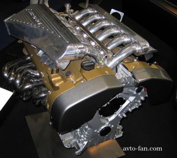 Двигатель Pagani Zonda HH