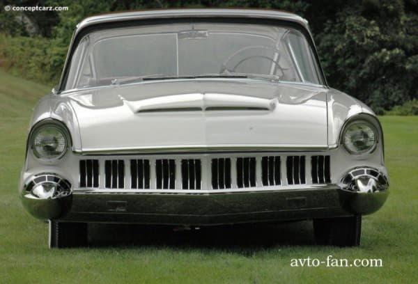 Автомобиль спереди