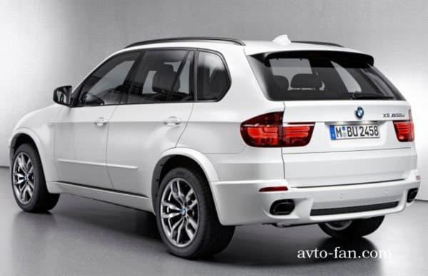 X5 BMW вид с левой стороны