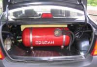 Газовое топливо для автомобилей