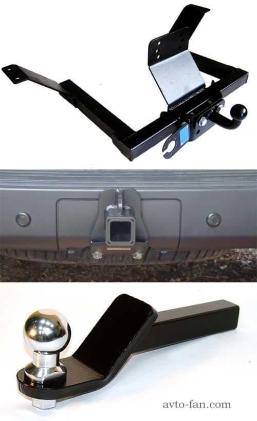 Разновидности автомобильных фаркопов