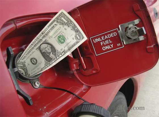 Деньги в топливном баке автомобиля