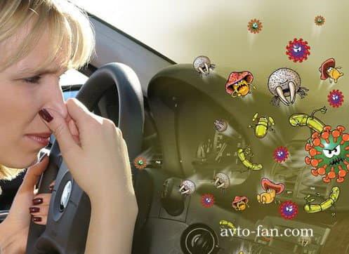 Неприятный запах бензина в салоне автомобиля