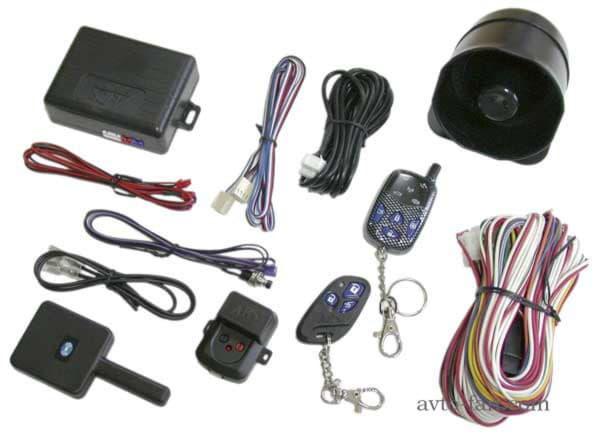 Комплект автомобильной сигнализации