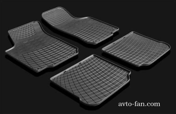 Универсальные резиновые коврики для автомобилья