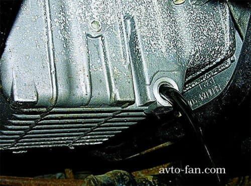 пробка слива моторного масла