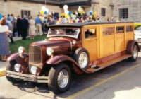 Старенький лимузин