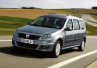 Dacia Logan вид спереди