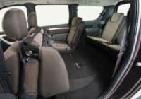 Раскладывающие пассажирские сидения