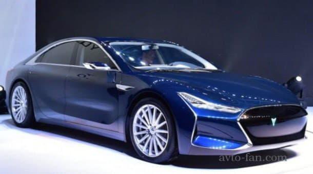 Японский электромобиль Youxia X