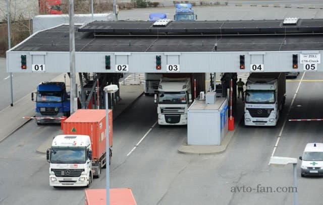 Платный проезд для грузовиков