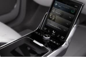 Кнопки управления на кресле водителя