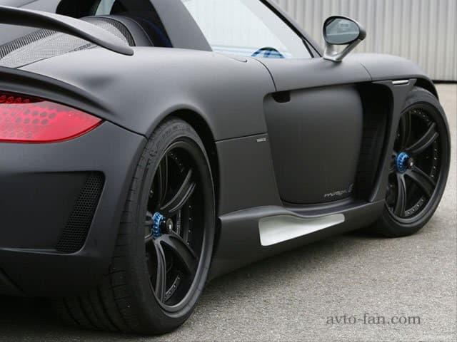 Черный матовый цвет кузова