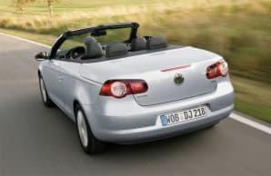 Volkswagen Eos - вид сзади