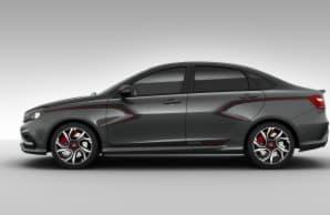 Lada Vesta  и новые версии: S-Line и R