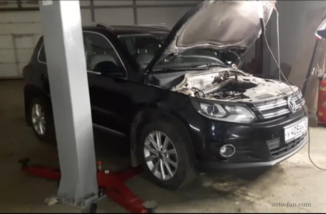 Компьютерная диагностика автомобиля Фольксваген Тигуан?