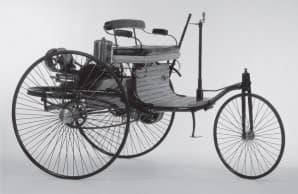 Почему первый автомобиль был создан трёхколёсным