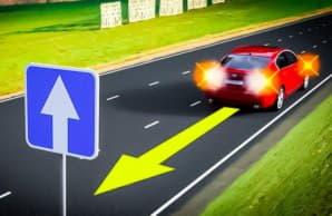 Сколько можно ехать задним ходом навстречу потоку машин