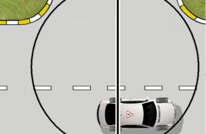Как развернуться на узком перекрёстке. Лайфхак от опытных водителей