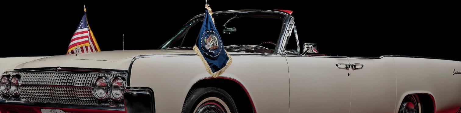 Роковой лимузин Kennedy Lincoln Continental выставлен на аукцион
