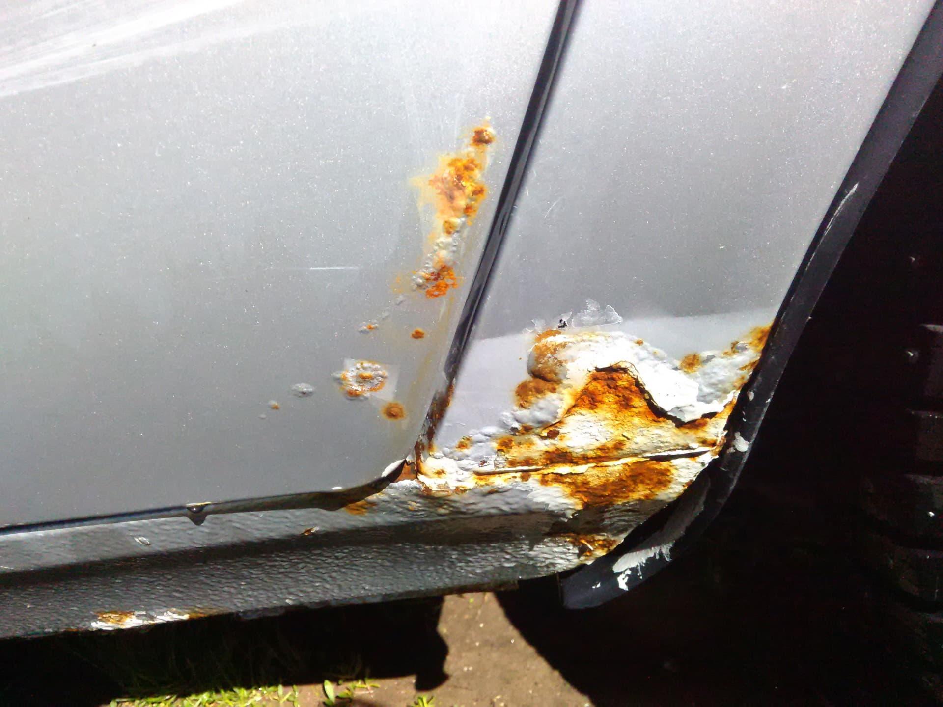 Коррозия авто: 2 способа устранить ржавчину без автосервиса