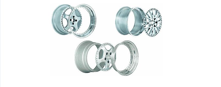 Сборные колёсные диски