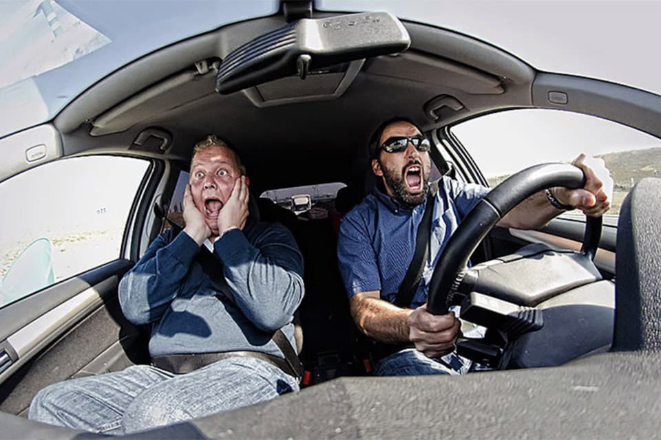 Действия водителя в различных экстремальных ситуациях