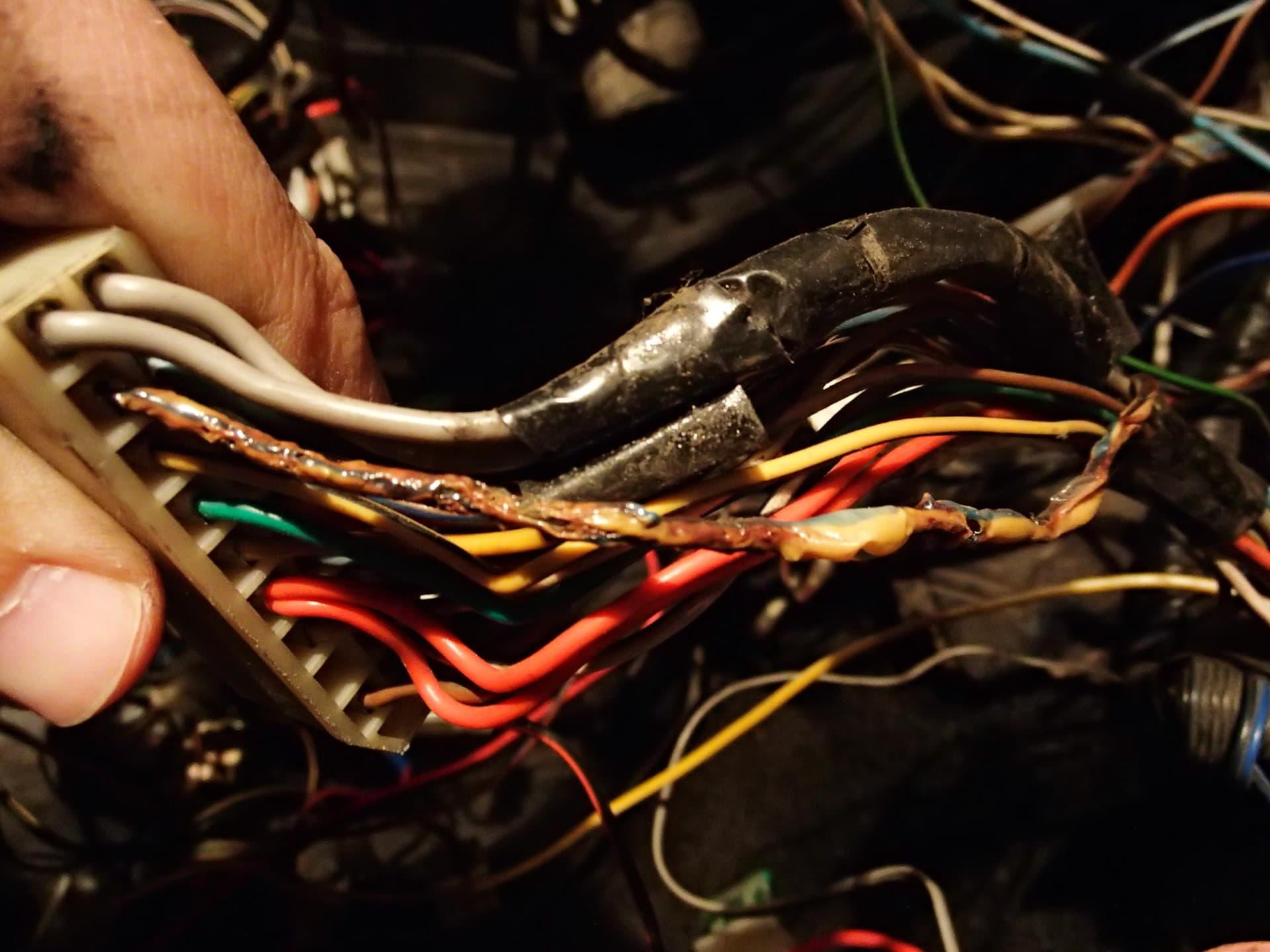 оголённые провода